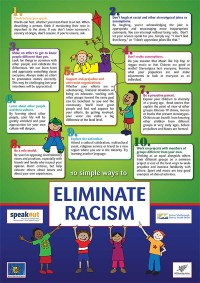 10 Ways to Eliminate Racism, Poster Preview